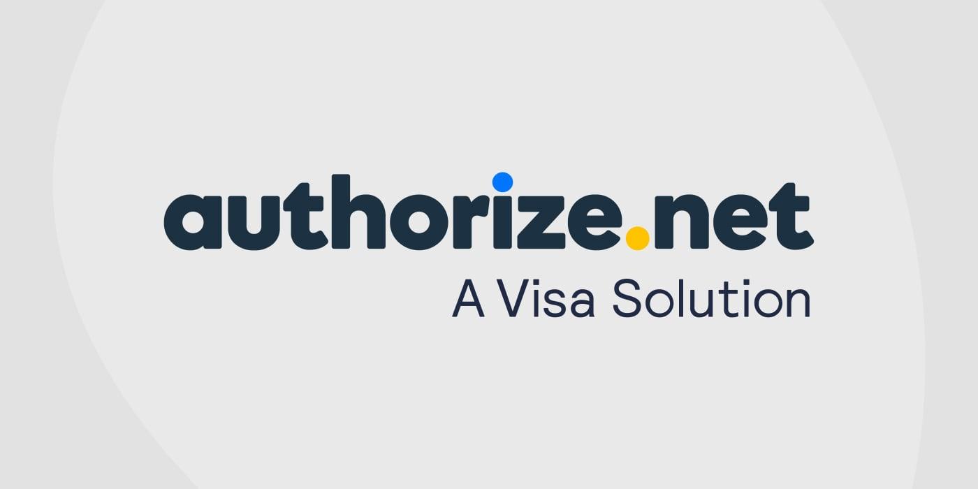 Payment processor Authorize.net logo