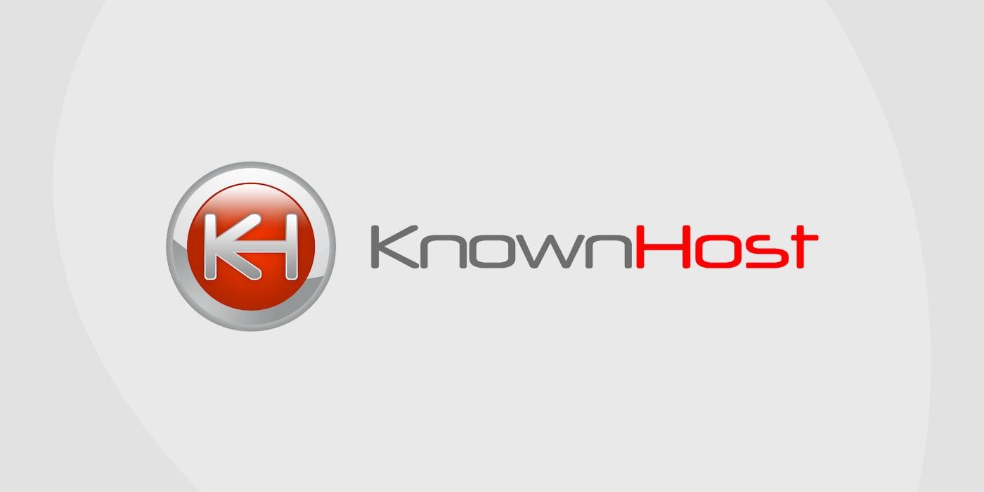 Knownhost logo for web hosting service