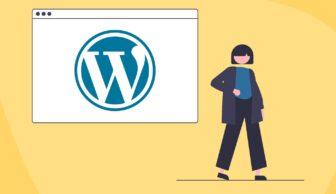 Wordpress web hosting illustration