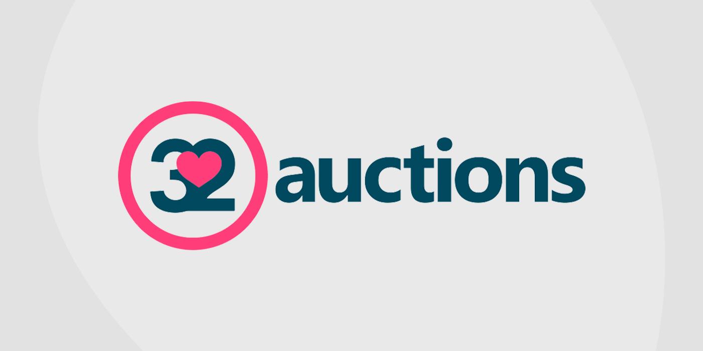 Logo for 32 Auctions auction platform