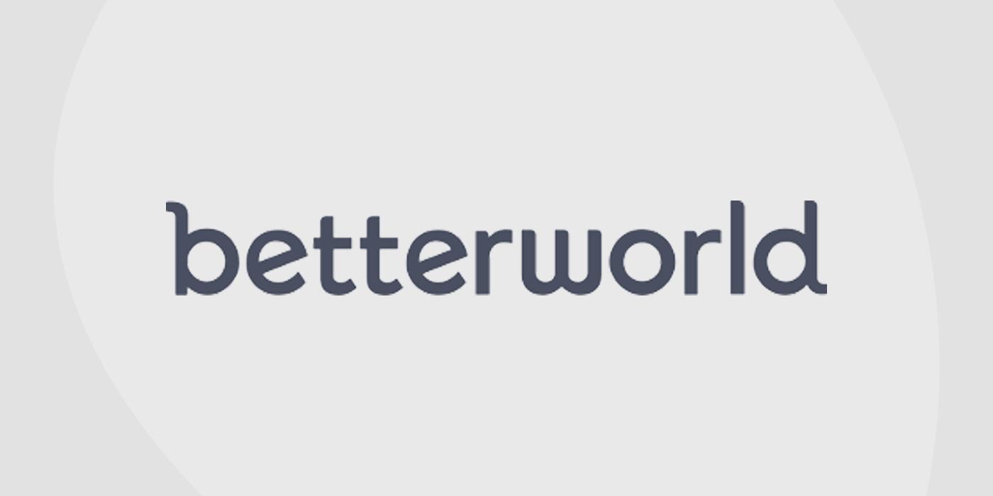 Logo for Betterworld auction platform