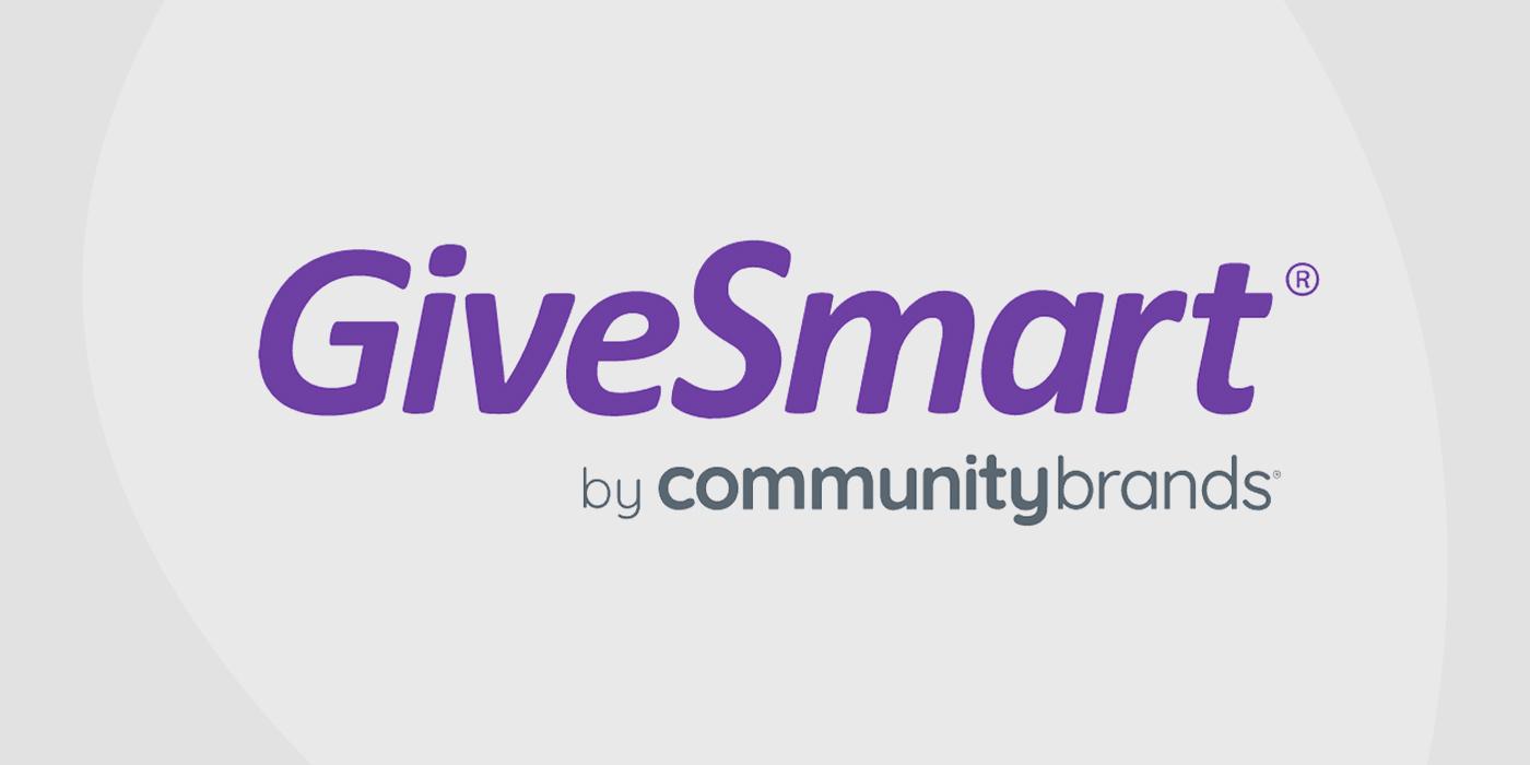 Logo for Givesmart fundraising platform