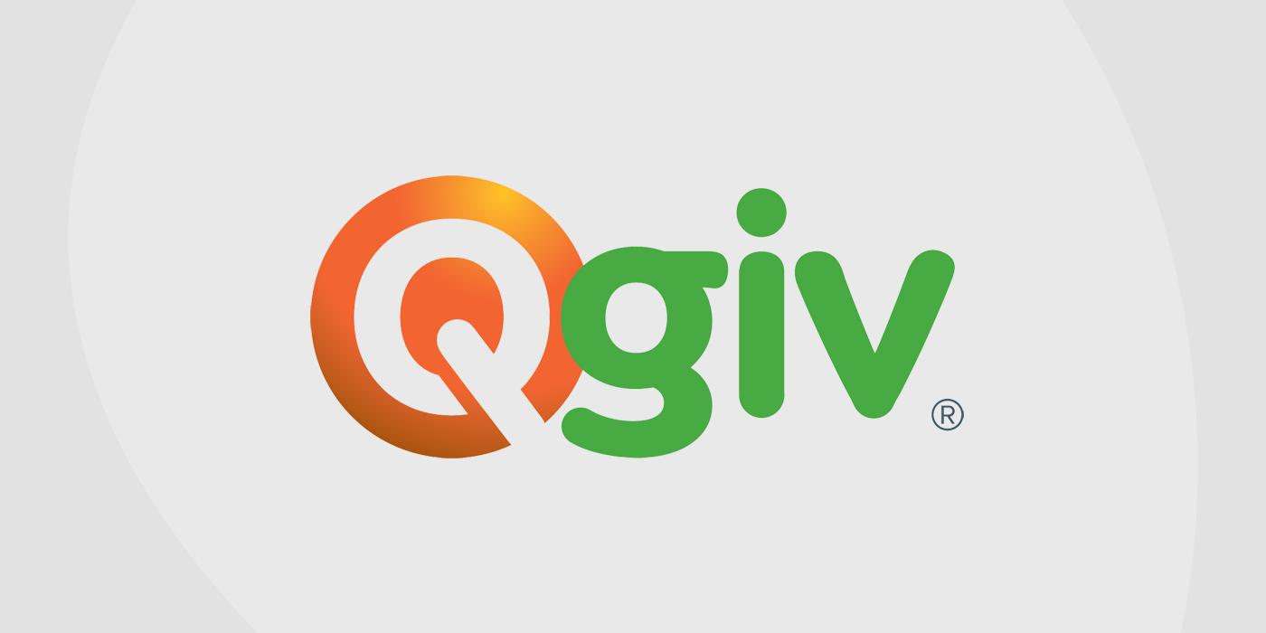 Logo for QGiv fundraising platform