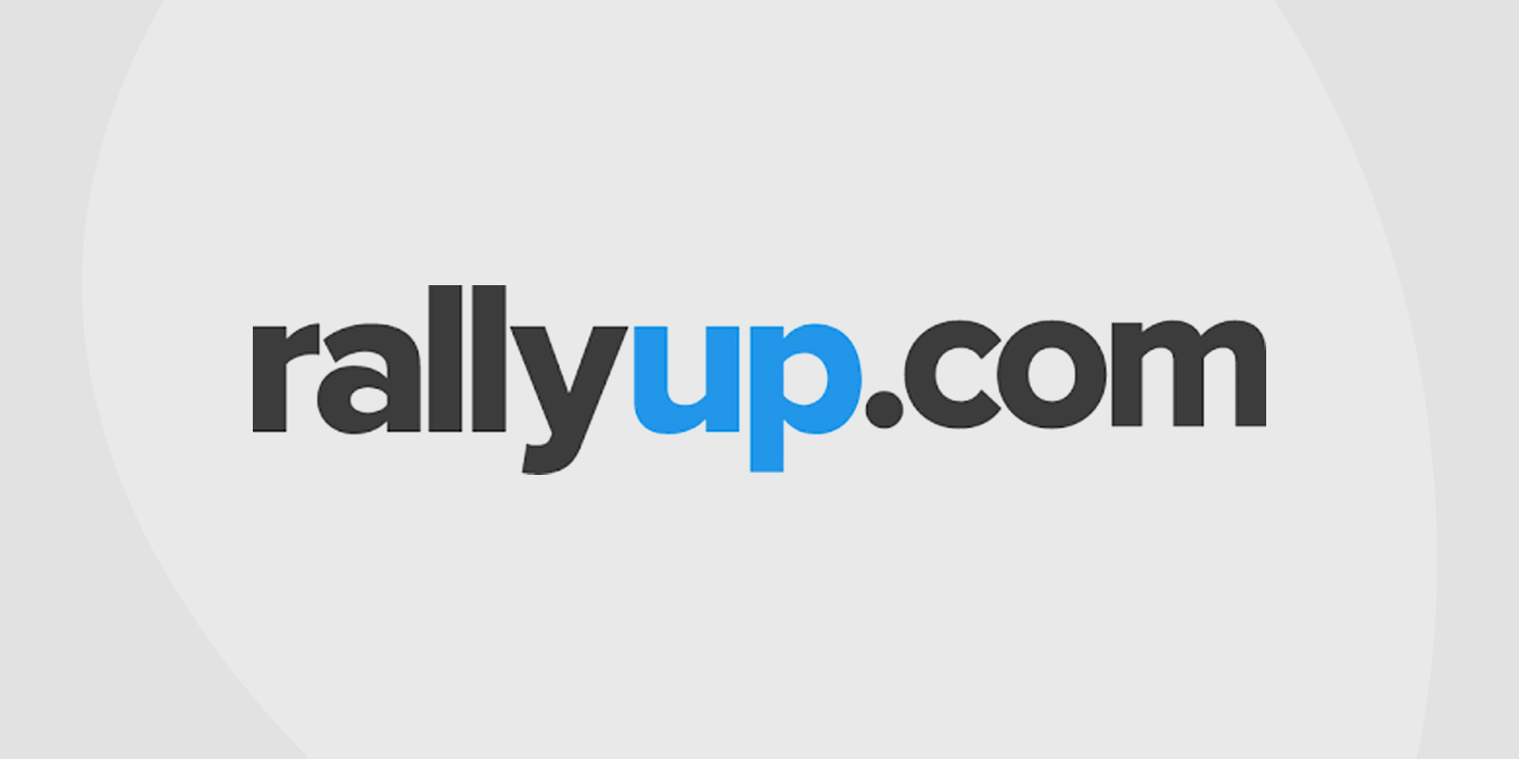 Logo for Rally Up auction platform